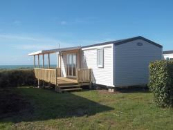 Mobil-home Premium GRAND LARGE 30m² - 2 chambres + terrasse semi-couverte 15m²