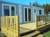 Rental - Mobil home 6 personnes Privilège - 35m2 + terrasse 15m2 - 3 chambres - Camping LA FORET***