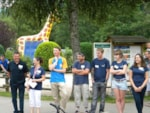 Reception team Flower Camping VERTE VALLEE - XONRUPT LONGEMER