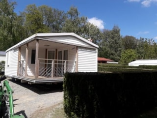 Mobil-Home Solo Comfort + 25,40M ² (2 Rooms) + Terrace