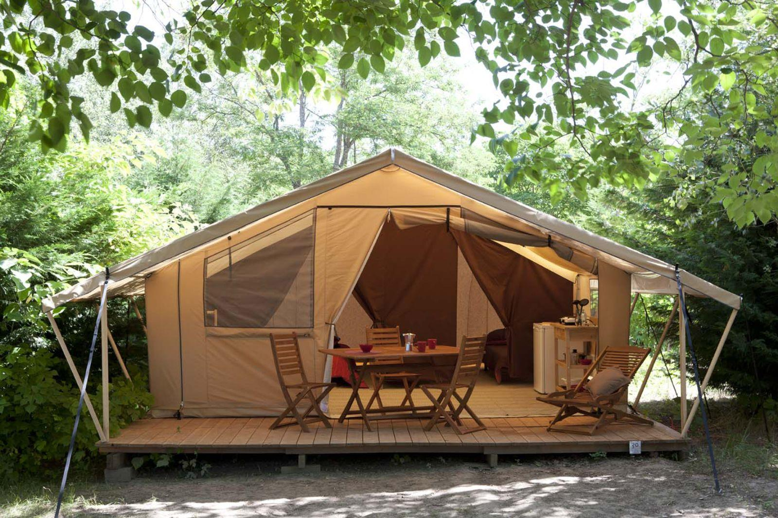 Tent Lodge 2 bedrooms 20m² + 15m² terrace