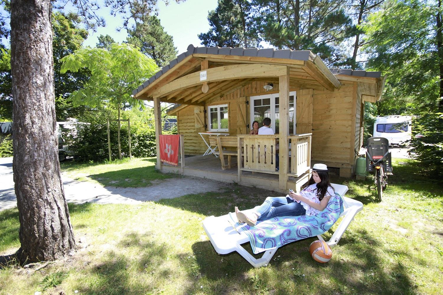 Location - Chalet Le Titan 2 Chambres - 35M² - Nantes Camping
