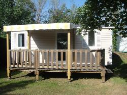 Mobile home Domino 26m² 2 bedrooms + Half-covered terrace
