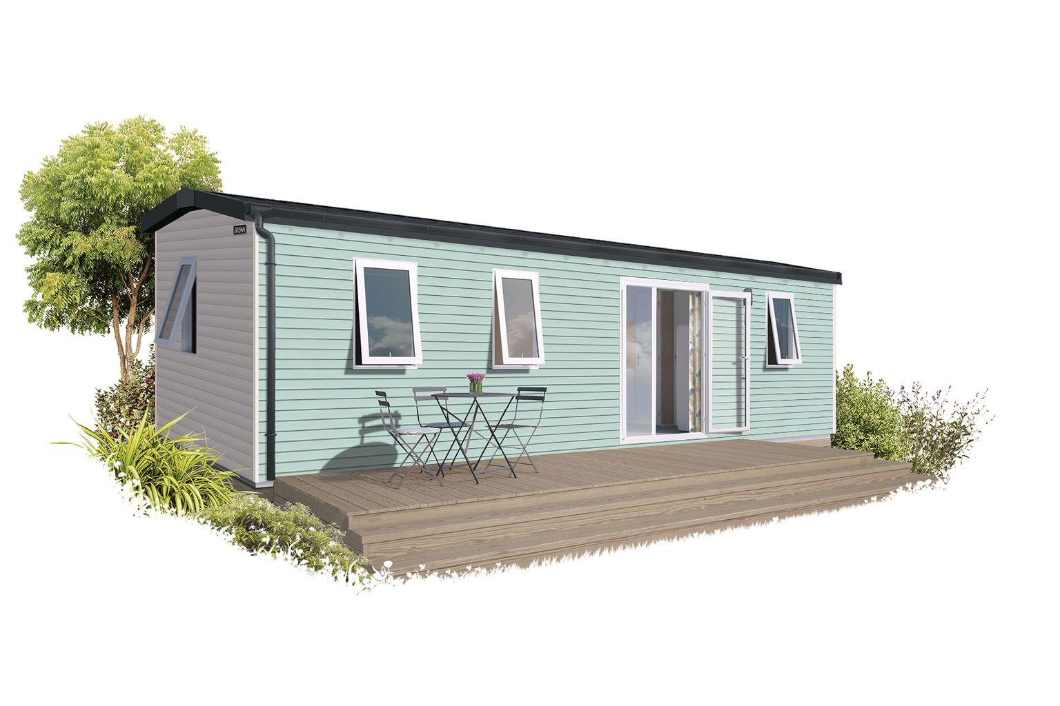 Location - Cottage New 3 Chambres *** - Camping Sandaya Soulac Plage