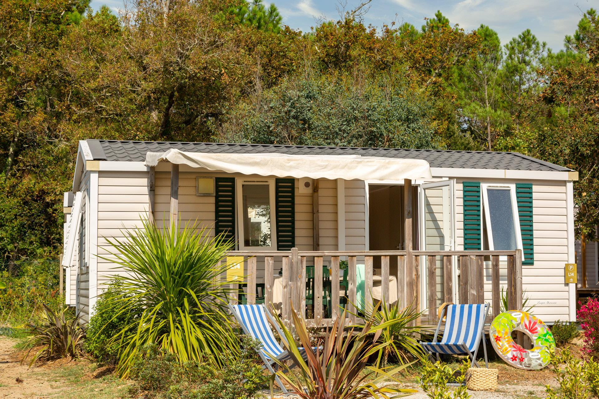 Location - Cottage 2 Chambres*** - Camping Sandaya Soulac Plage