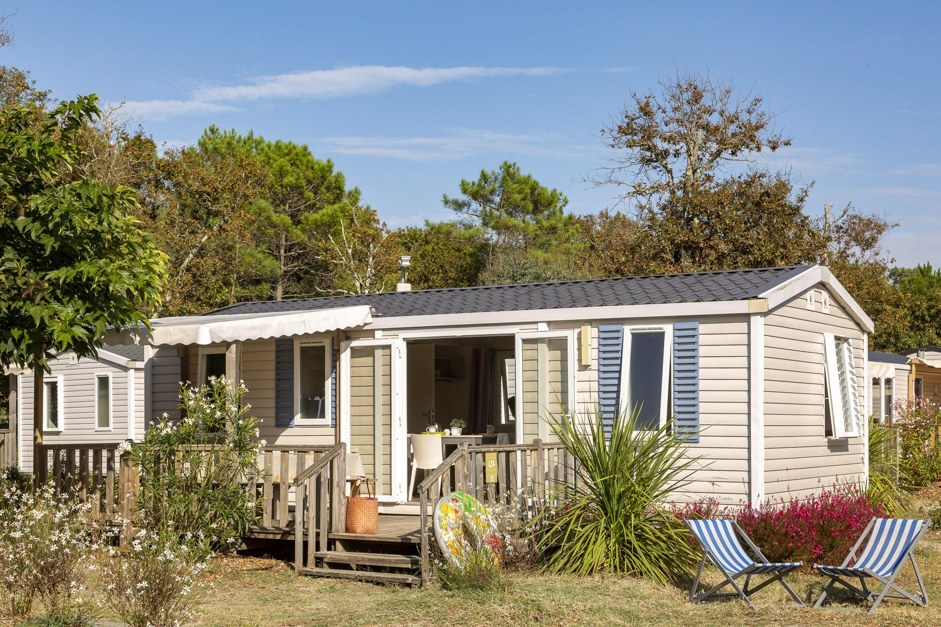 Location - Cottage 3 Chambres*** - Camping Sandaya Soulac Plage