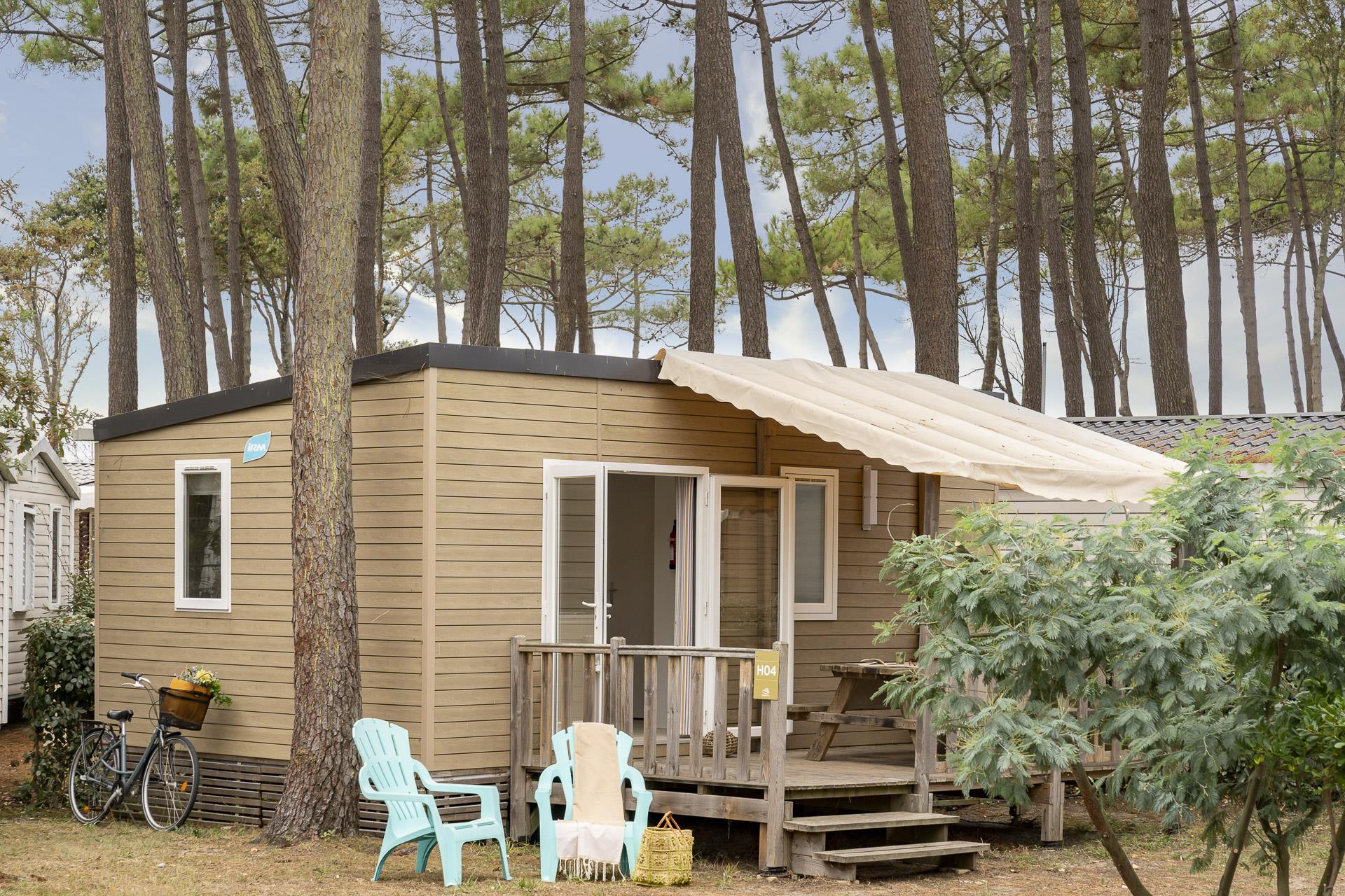 Location - Cottage 2 Chambres** - Camping Sandaya Soulac Plage