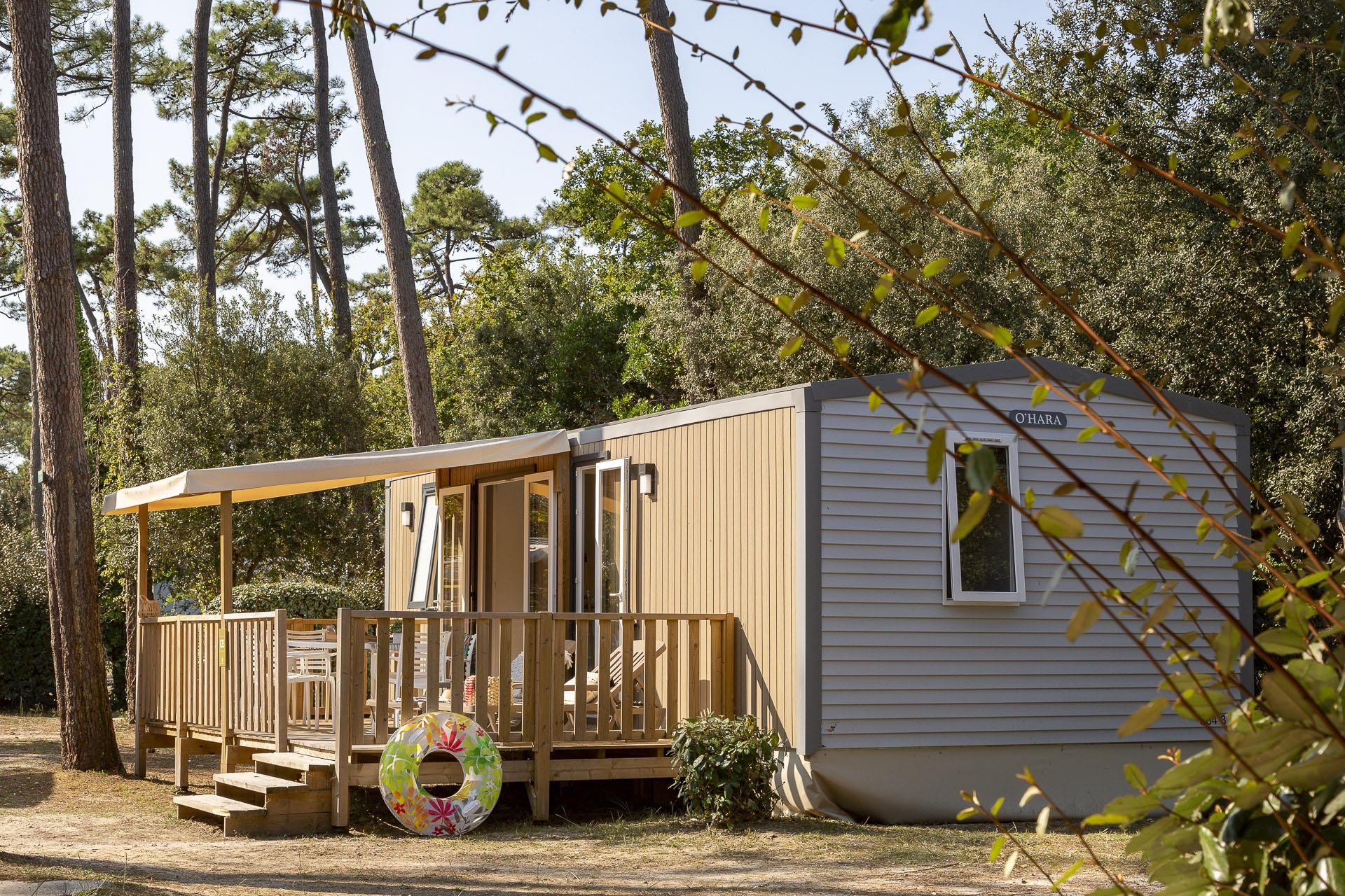 Location - Cottage 3 Chambres Climatisé**** - Camping Sandaya Soulac Plage