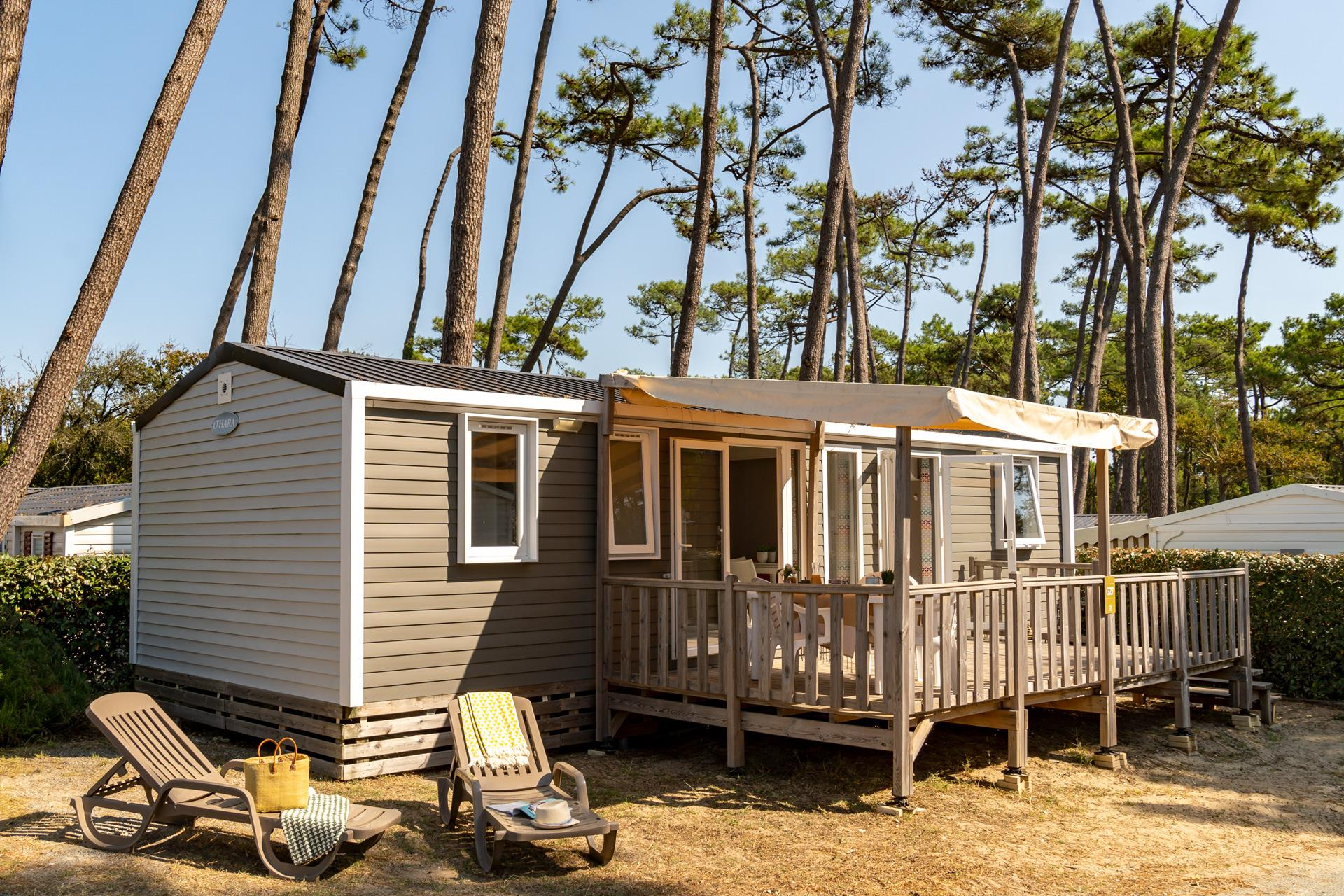 Location - Cottage 3 Chambres 2 Sdb Climatisé **** - Camping Sandaya Soulac Plage