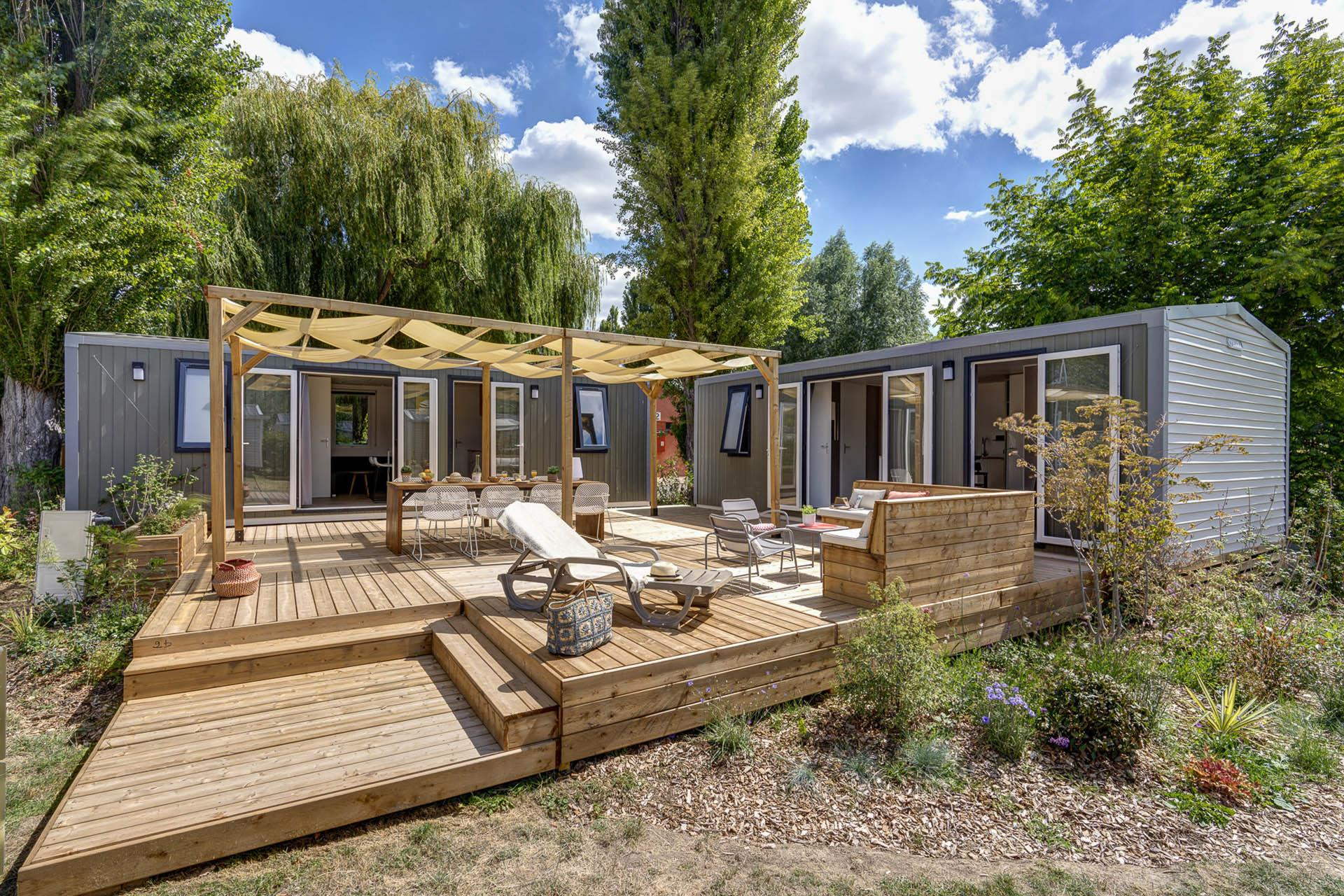 Location - Cottage Friends 5 Chambres **** - Camping Sandaya Soulac Plage