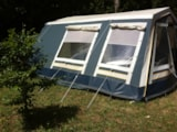 Rental - Tent TRIGANO, without toilet blocks - Camping d'Auberoche