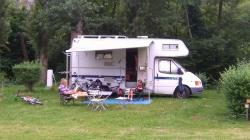 Pitch - CAMPING-CAR - Camping d'Auberoche ***