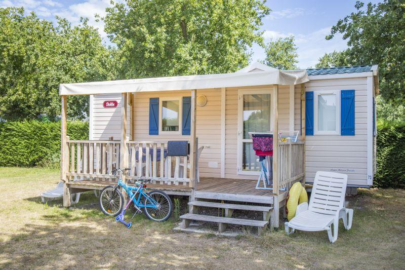 Location - Mobil-Home Caraïbes - Chadotel Camping Le Domaine d'Oléron