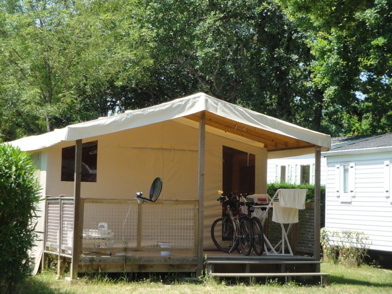 Location - Ecolodge Toilé 4 Pers - Chadotel Camping Le Domaine d'Oléron