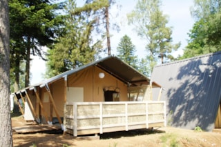 Tent SAFARI PREMIUM 35m² - 2 bedrooms