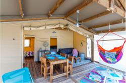 Tent Safari Cotton Confort+ 32M² ( 2 Bedrooms) + Sheltered Terrace