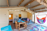 Rental - Tent SAFARI Cotton 32m² - 2 bedrooms - Flower Camping Les Murmures du Lignon