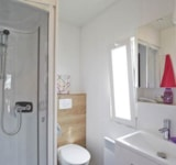 Rental - Mobile home TAOS F4 - 2 bedrooms - 2 bathrooms - Flower Camping Les Murmures du Lignon