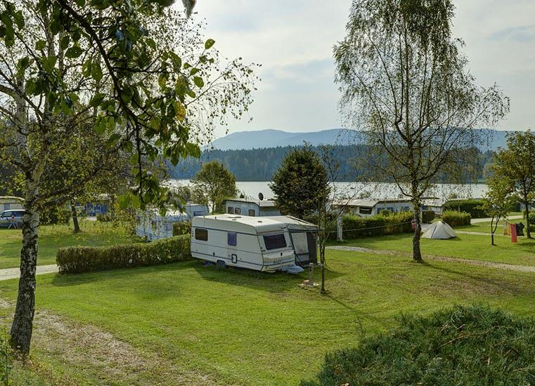 Emplacement - Emplacement + 1 Voiture + Caravane - Camping Seewirt