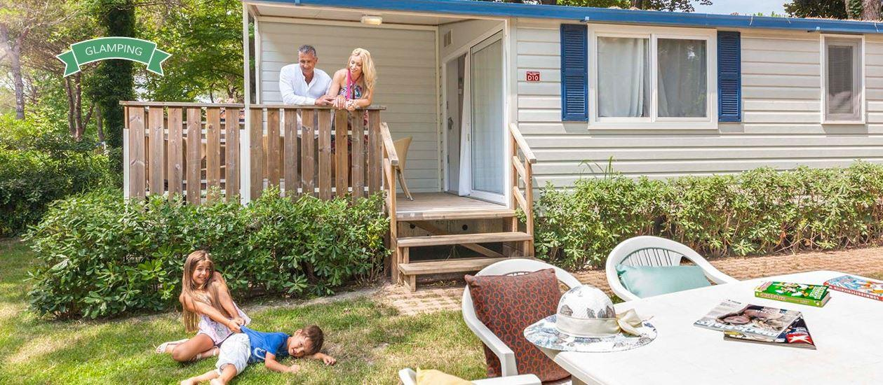 Location - Mobil Home Deluxe - Camping Pino Mare