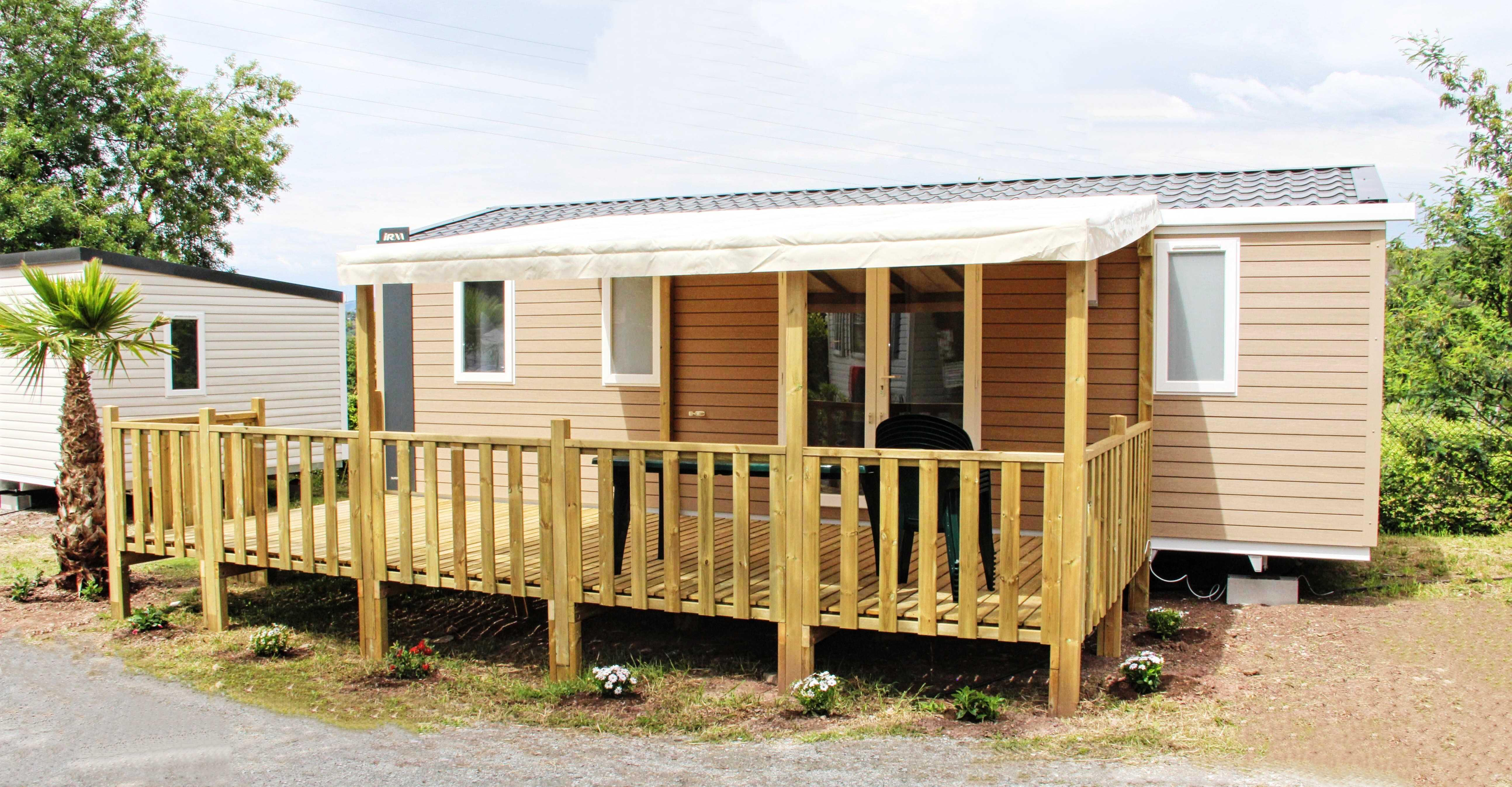 Rental - Mobile-Home Irm Cordelia 30M² - 3 Bedrooms - Camping Site de Gorge Vent