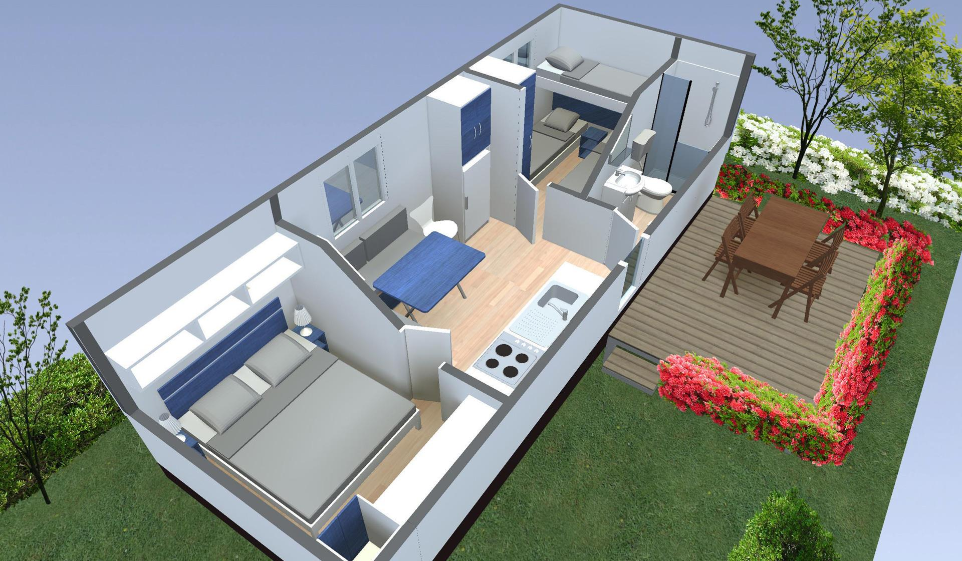 Location - Mobilhome Boheme - Camping Butterfly