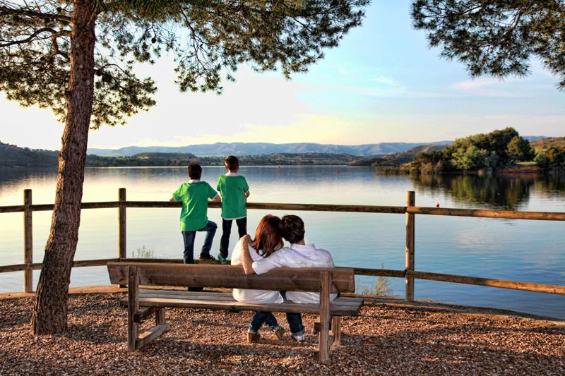 Plages Camping Lake Caspe - Caspe