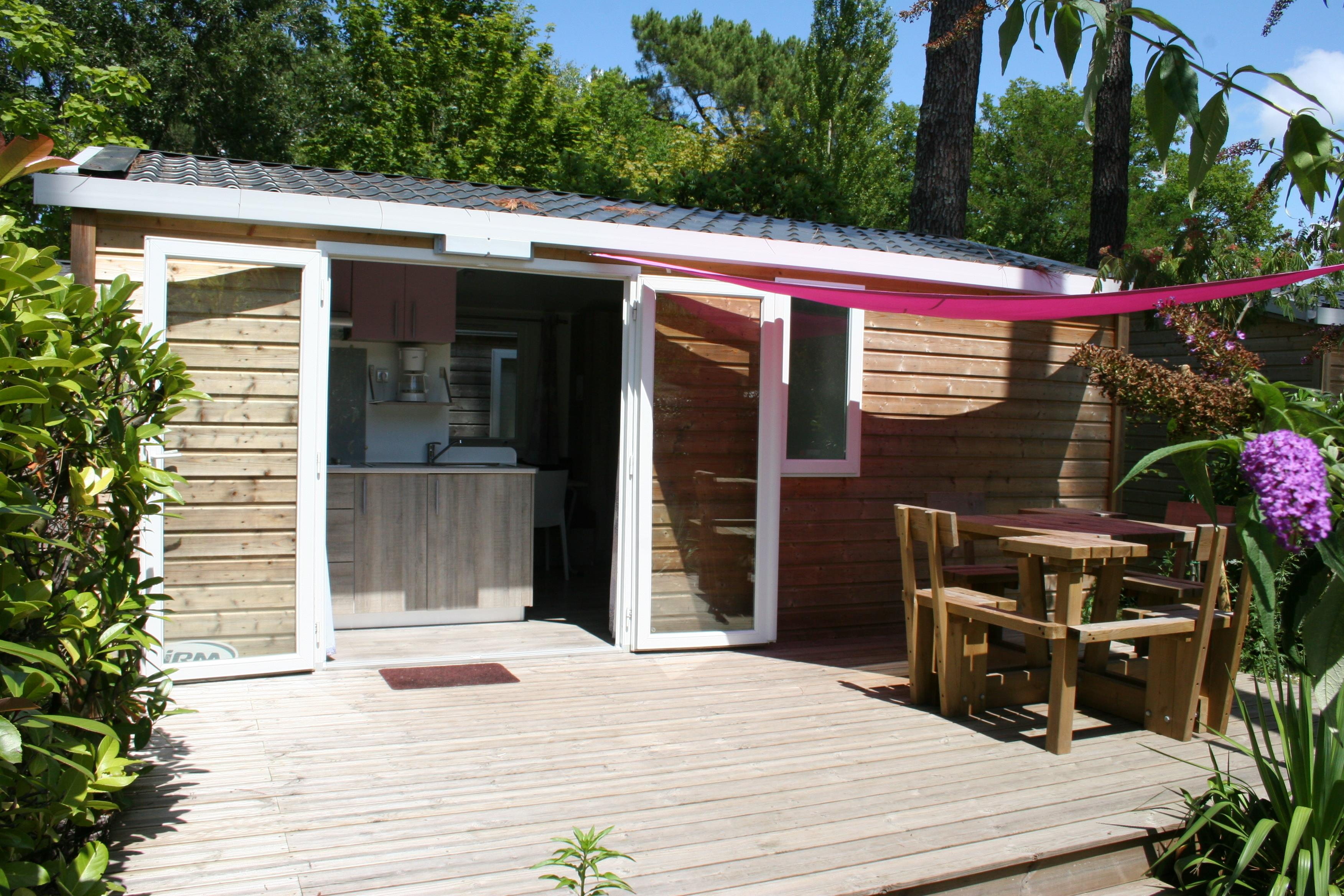Mobil-home Grand Confort 24m² - Modèle 2013 - Terrasse non couverte