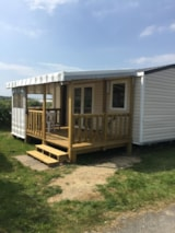 Rental - Mobile-home 1 bedroom - Camping Les Prairies de L'Etang