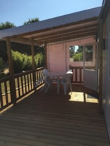 Rental - Mobile-home 2 bedrooms, Half-covered terrace - Camping Les Prairies de L'Etang