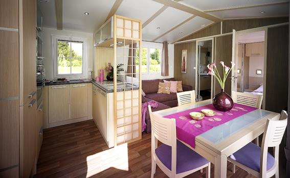 Mobil-home Blueberry 2 chambres 32m²