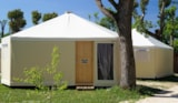 Rental - Glamping Bungalow-Tent - Camping Rialto