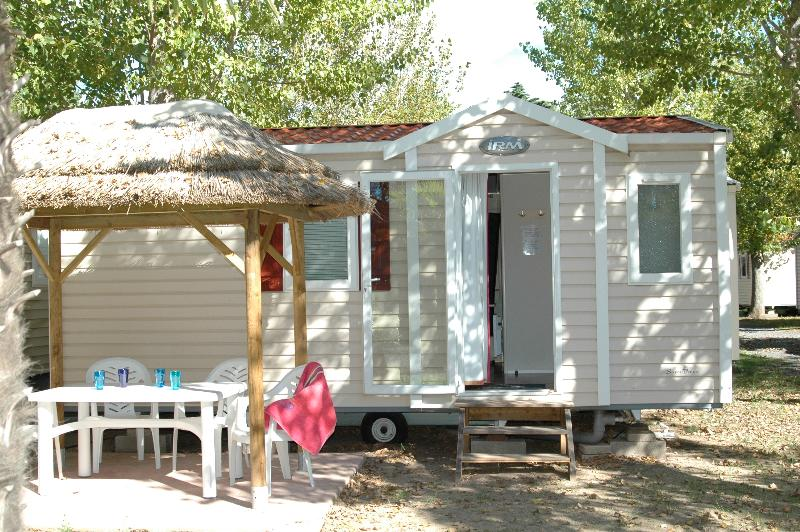 Mobile home Super Venus 23 m² - Air-conditioning + television Sunday