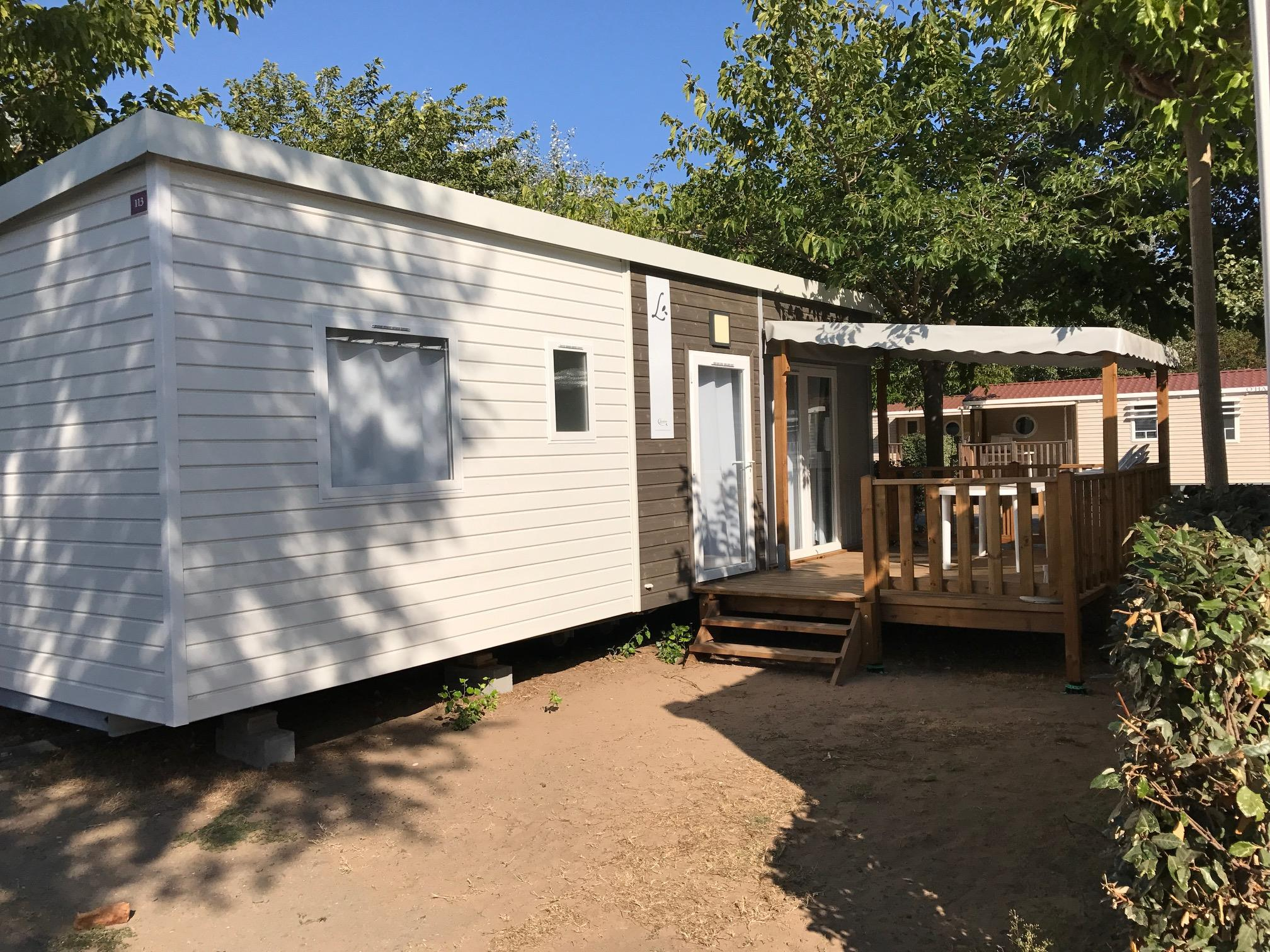 Accommodation - Mobilhome Declik 32M² Clim/Tv - Samstag - Camping Club Cayola