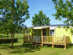 Location - Mobil Home Standard 2 Ch. - 5 Pers. - Terrasse Couverte - Camping La Turelure