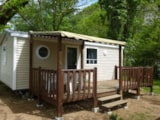 Rental - Mobile home Standard 2 bedrooms - 5 pax. - covered terrace - Camping La Turelure