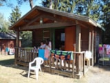 Rental - Mini-chalet without toilet blocks Isabelle - Camping du Lac