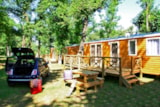 Rental - Wooden Mobile home SEQUOIA - Albirondack Park
