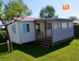 Rental - Mobile-Home 2 Bedrooms Santa Fe 30 M² - Camping Les Logeries