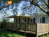 Rental - Mobile-Home 2 Bedrooms Zen 30 M² - Camping Les Logeries