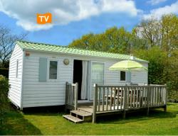 Mobil-home ATLANTIS 26m² 2 chambres 4pers. avec TELEVISION