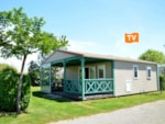 Rental - Mobilhome SESAME 40m² 2 chambres 4 pers. TELEVISION - Camping Les Logeries