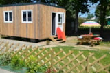 Rental - Wooden Bungalow - Camping Les Logeries