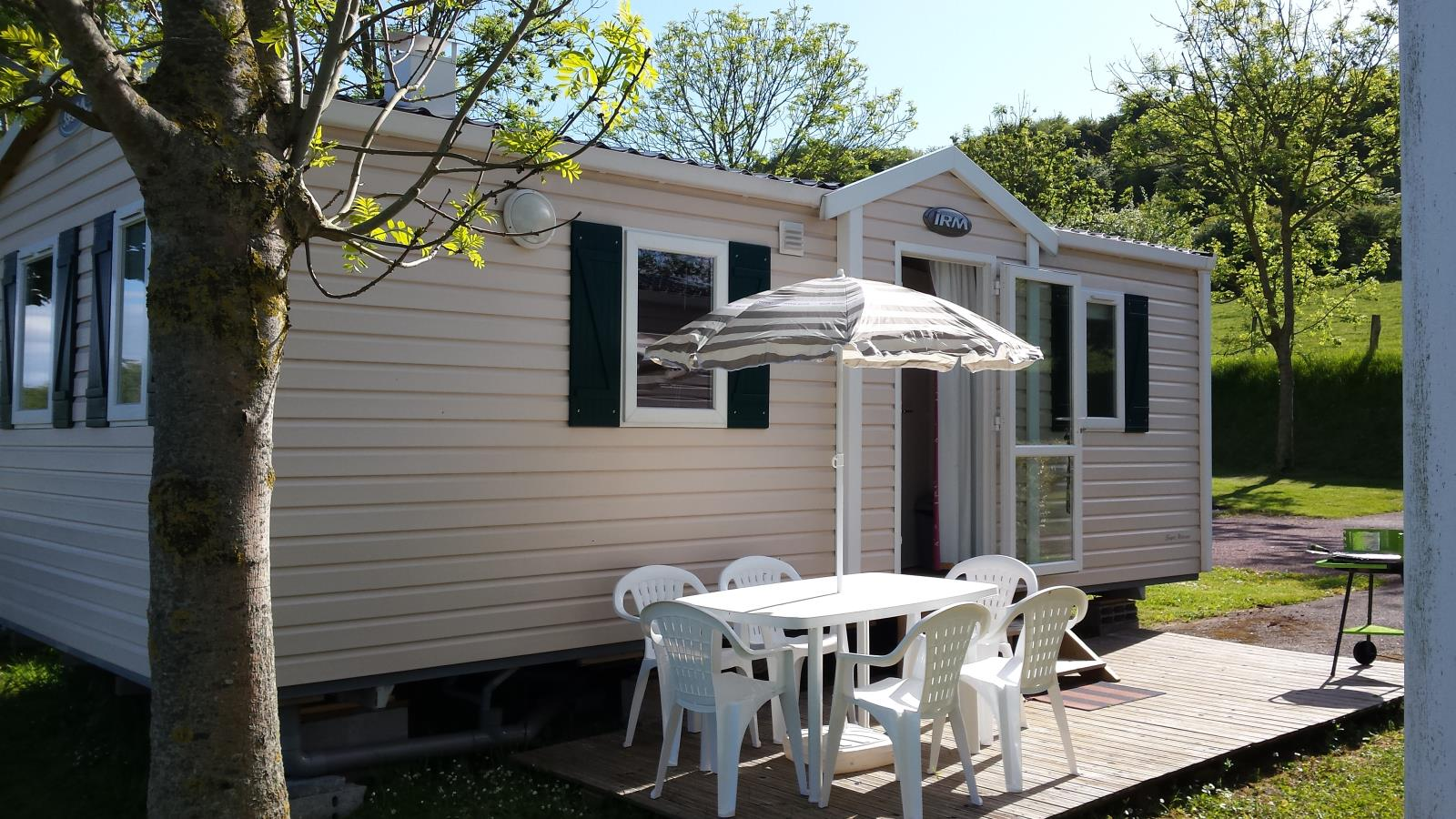 Rental - Mobile-Home 32M² 2 Bedrooms - Camping Le Mont Joli Bois