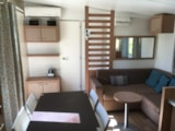 Rental - Mobile Home COSY / 3 bedrooms -  terrace - climatisation - Camping Village Grand Sud