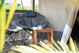 Rental - Tente Lodge Kenya 34,50 m² - No bathroom - Camping de la Gères