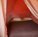 Rental - Tipi Maya 24 m² -  No bathroom - Camping de la Gères