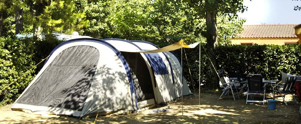 Emplacement - Emplacement Forfait Camping - Camping Holiday Green