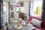 Huuraccommodaties - Cottage XXL 40 m² - 2 (slaap)kamers + airconditioning + TV - Camping Holiday Green