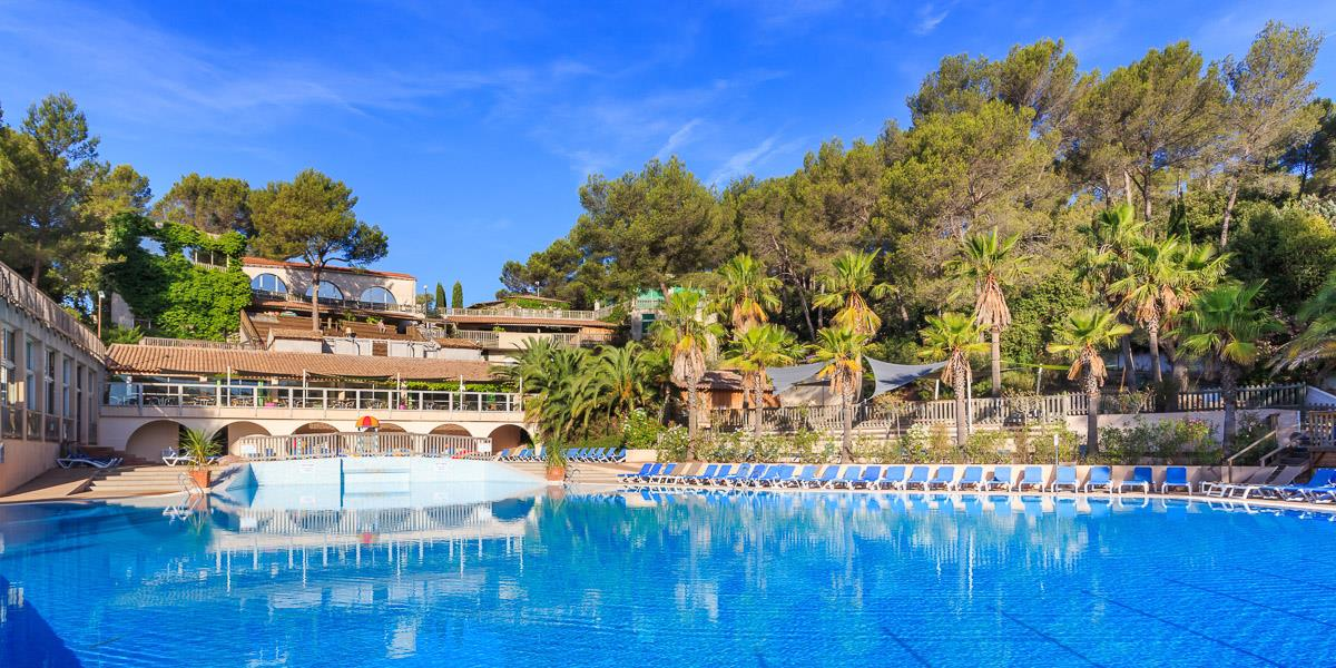 Mare, piscina Camping Holiday Green - Fréjus